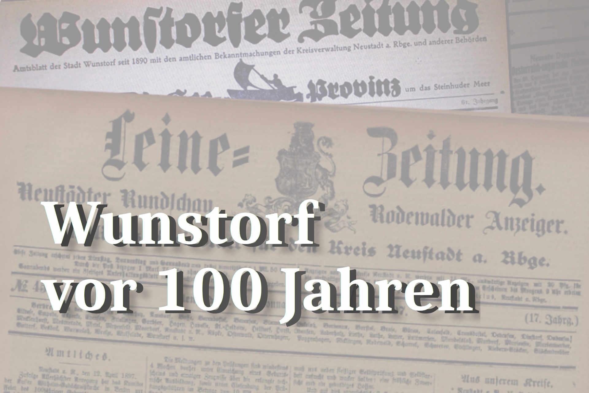 Pressespiegel 100 Jahre