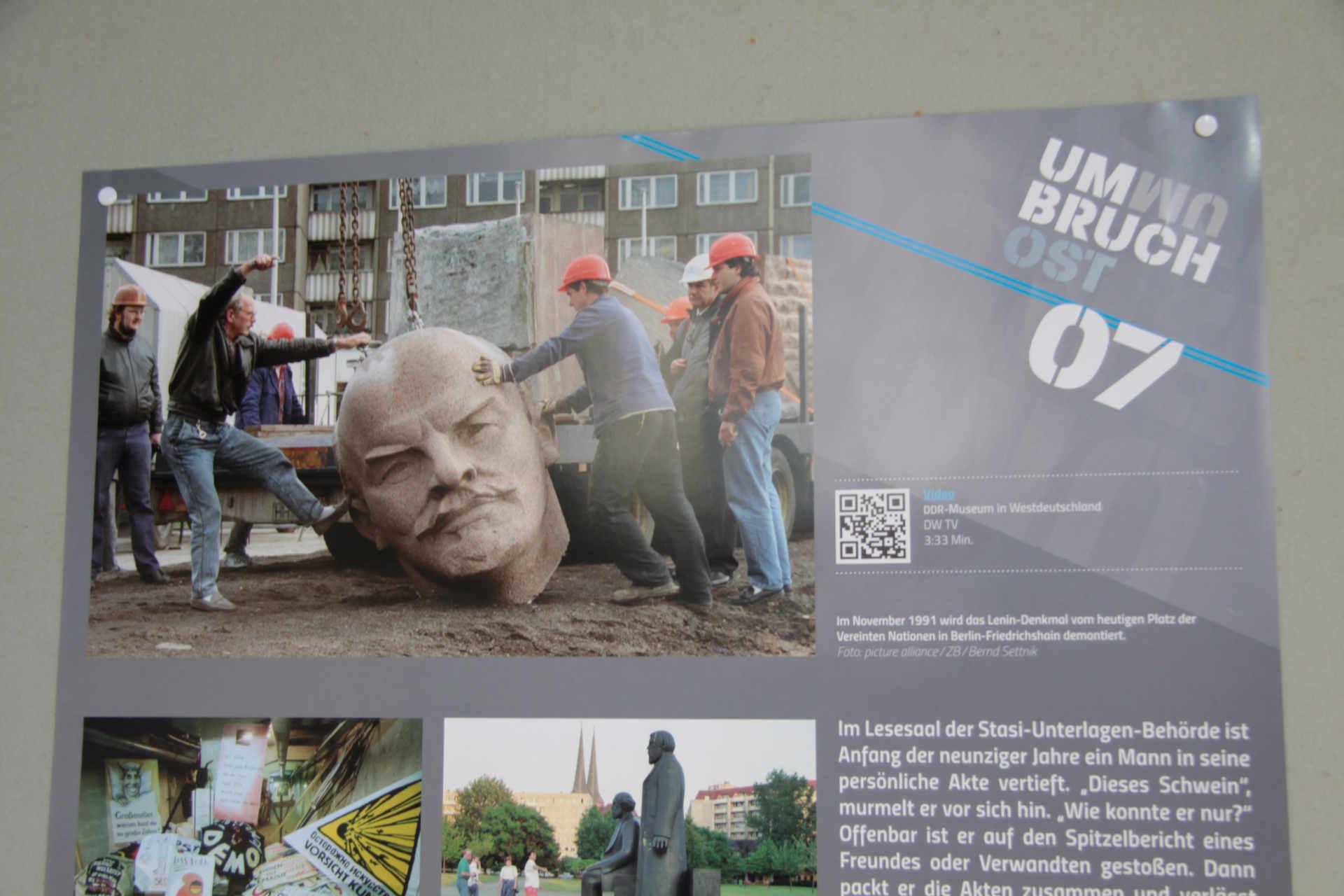 Ausstellungseröffnung Umbruch Ost