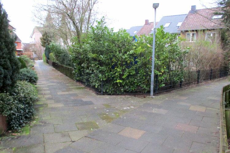 Separierte Fußgängerwege