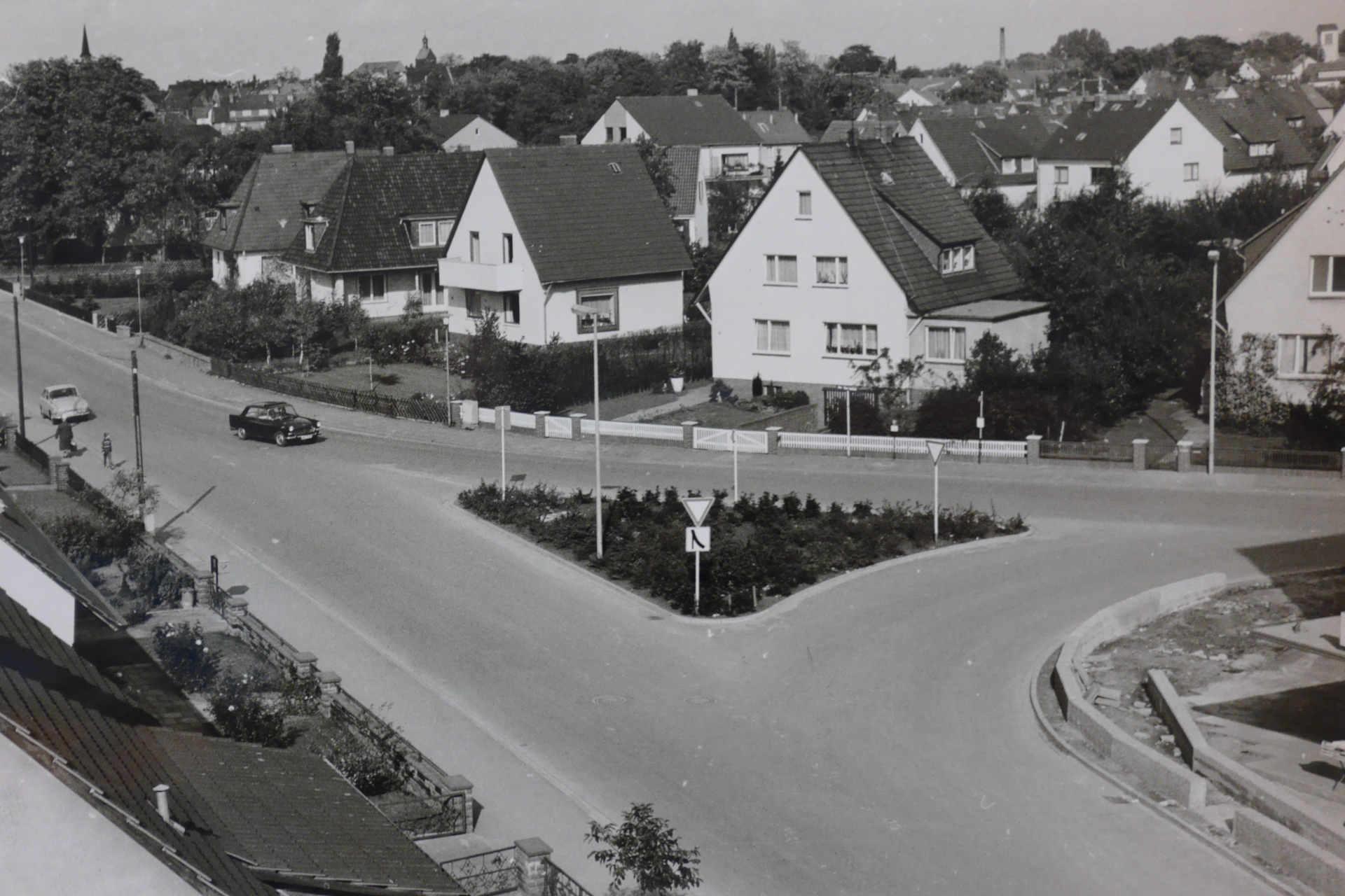 Verkehrsdreieck Barneplatz