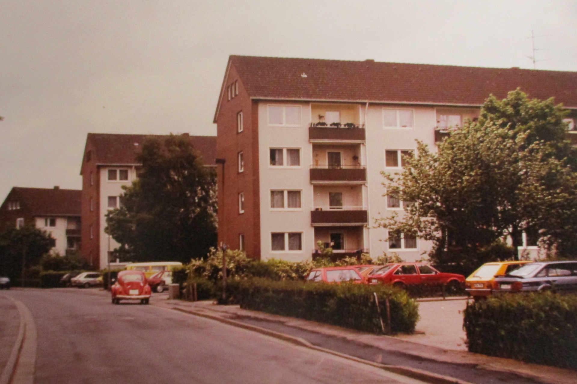 Rubensstraße Anfang der 80er Jahre