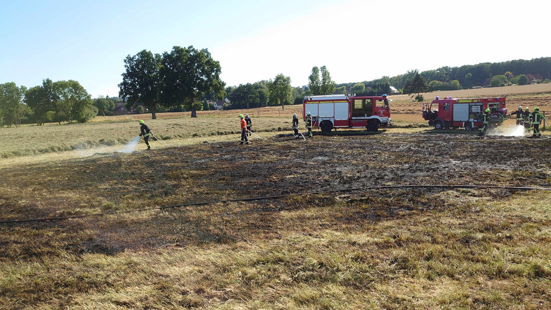 Flächenbrand B441