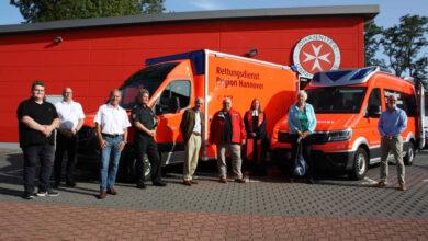 Bild von Rettungswache erhält zwei neue Fahrzeuge
