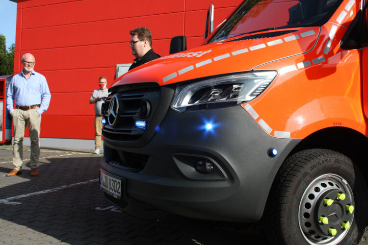 Rettungswagensegnung