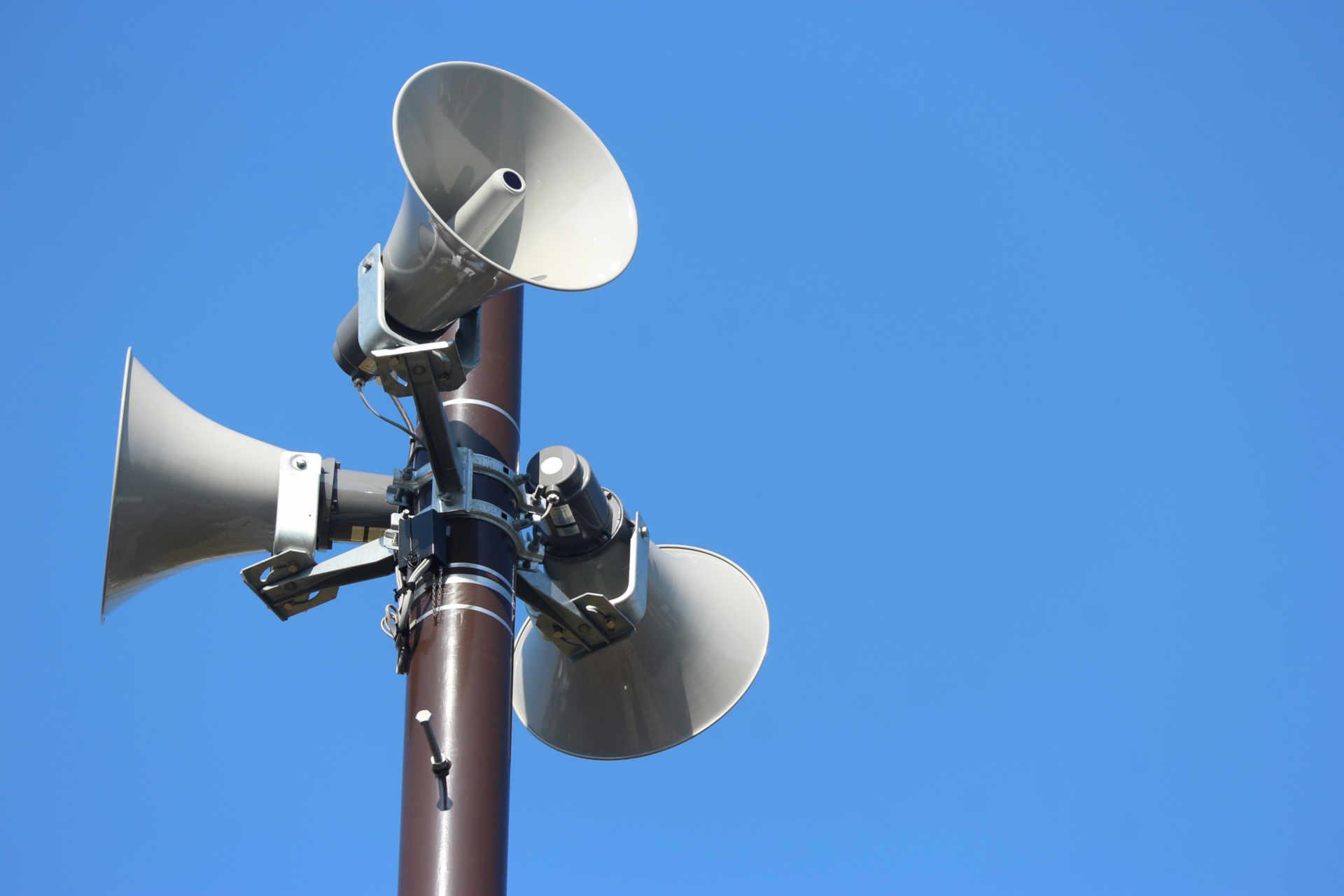 Sirenen-Lautsprecher