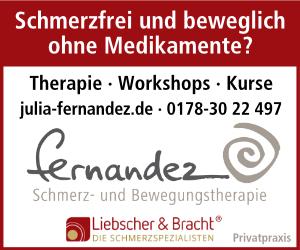Julia Fernandez. Schmerz- und Bewegungstherapie aus Wunstorf-Steinhude.