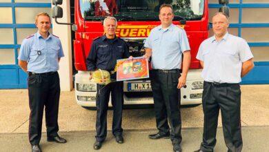 Bild von Bernd Heidorn geht in Feuerwehrrente