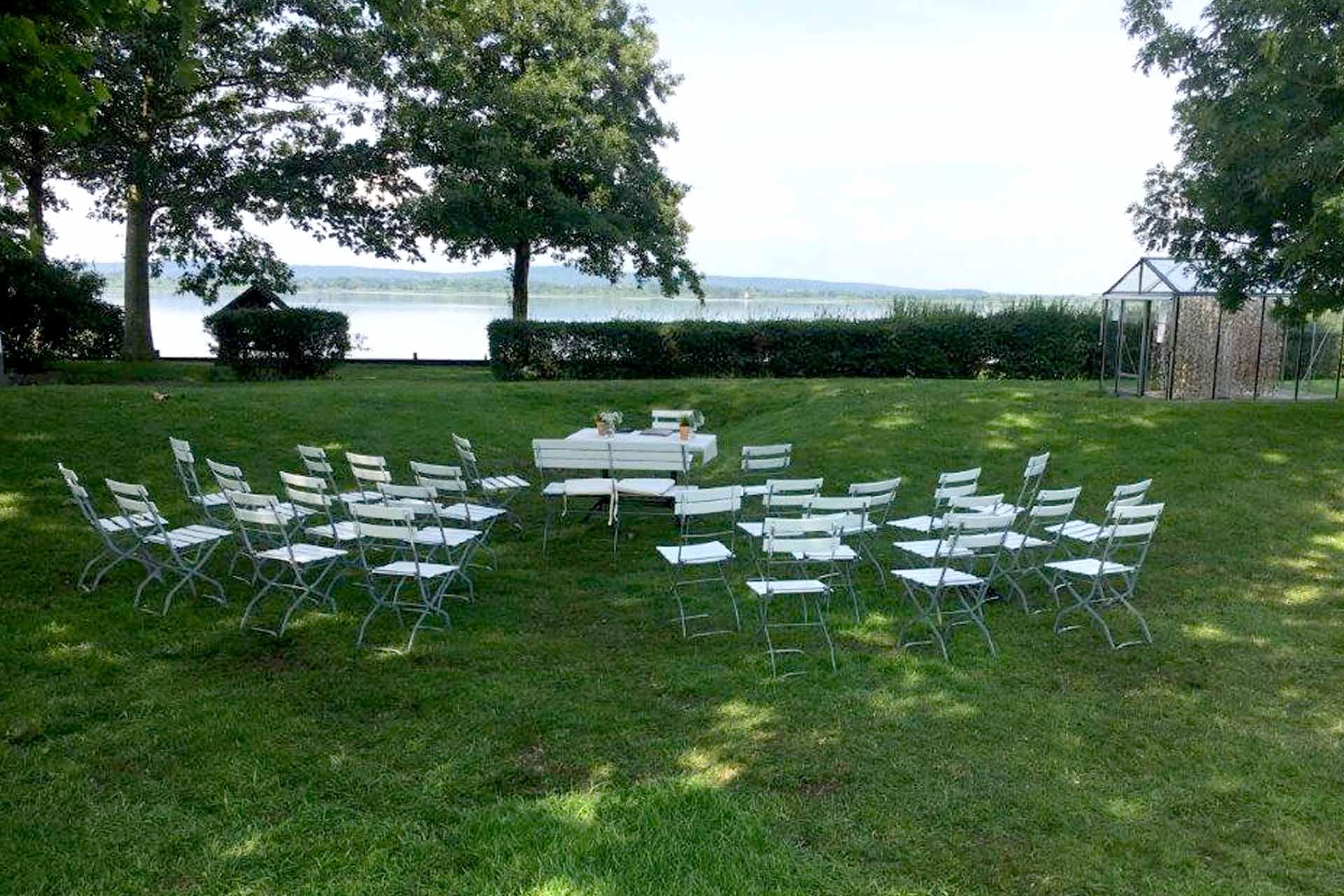 Hochzeit auf Insel Wilhelmstein
