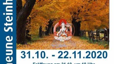 Bild von Tibet-Ausstellung in Kunstscheune