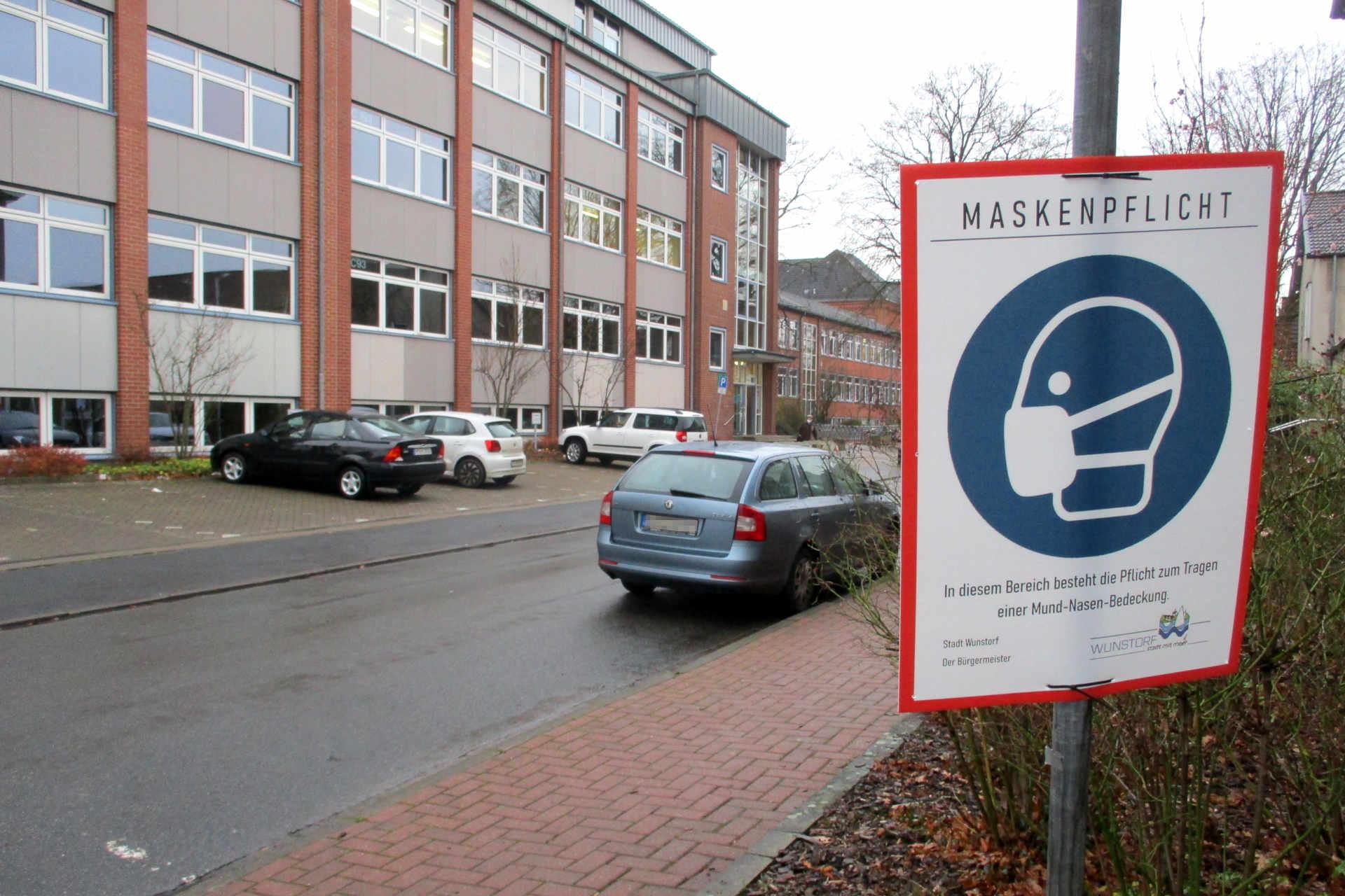Maskenpflicht am Hölty-Gymnasium