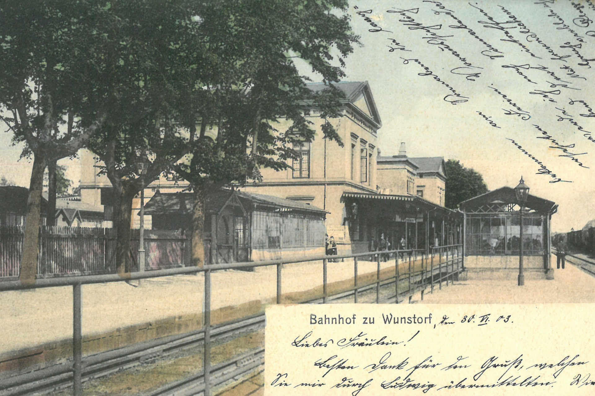 Bahnhof Wunstorf historisch