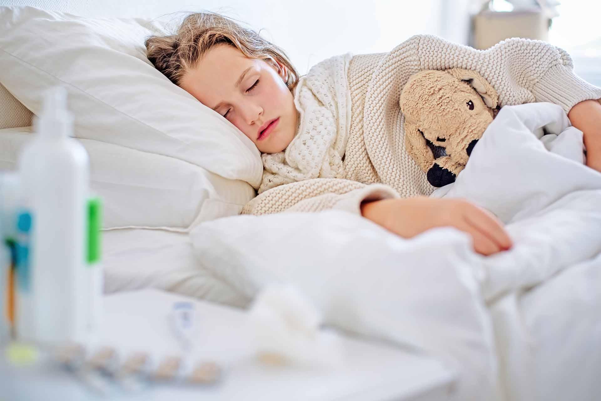 Symbolfoto: Längere Anspruchsdauer für Kinderkrankengeld wegen Corona