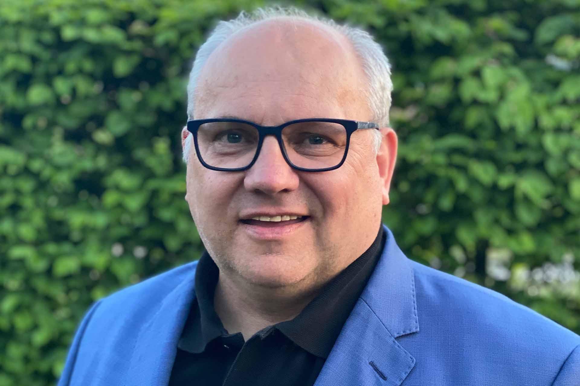 Ortsbürgermeister Thomas Silbermann