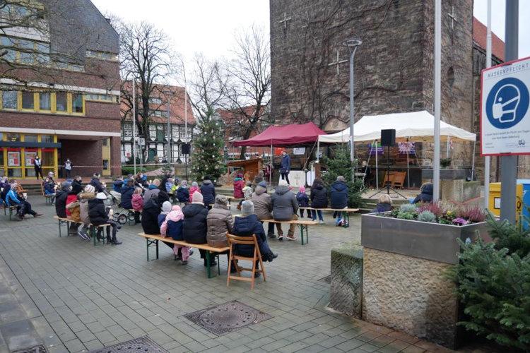 Open-Air-Weihnachtsgottesdienst