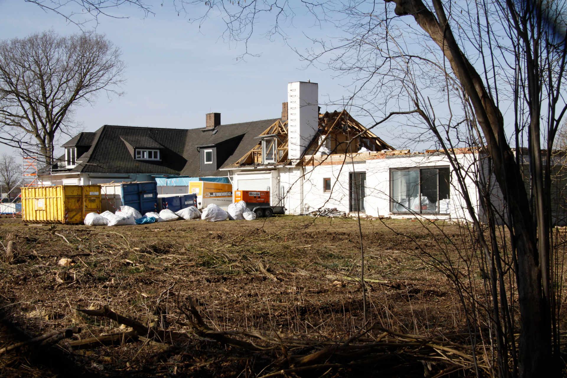 Asbestentfernung Villa Oesterheldt