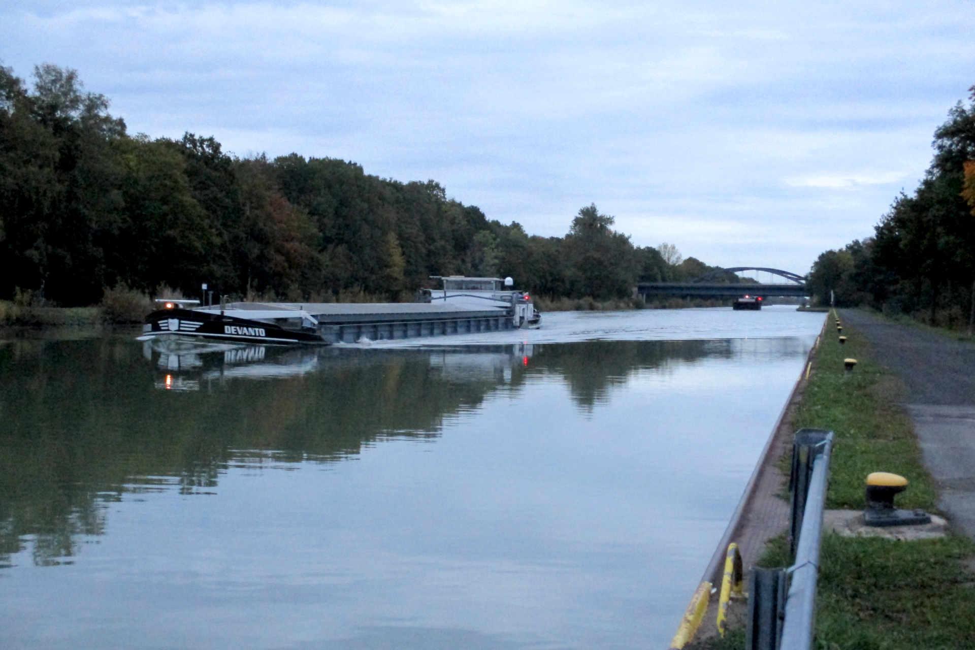 Binnenschiffe Mittellandkanal