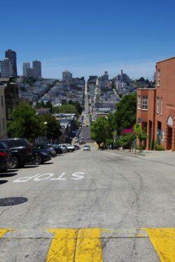 Straße in San Francisco