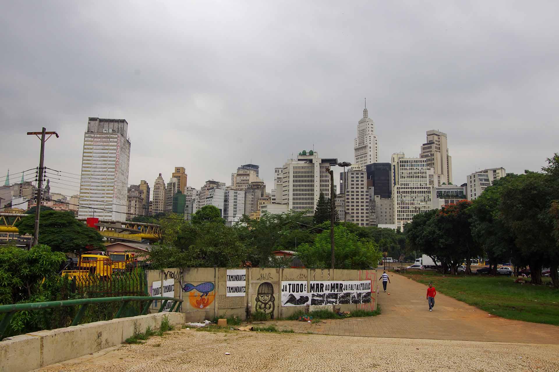 Downtown in Sao Paulo, Brasilien