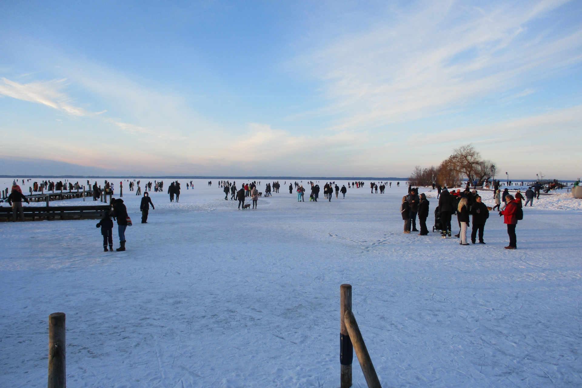 Steinhuder Meer zugefroren