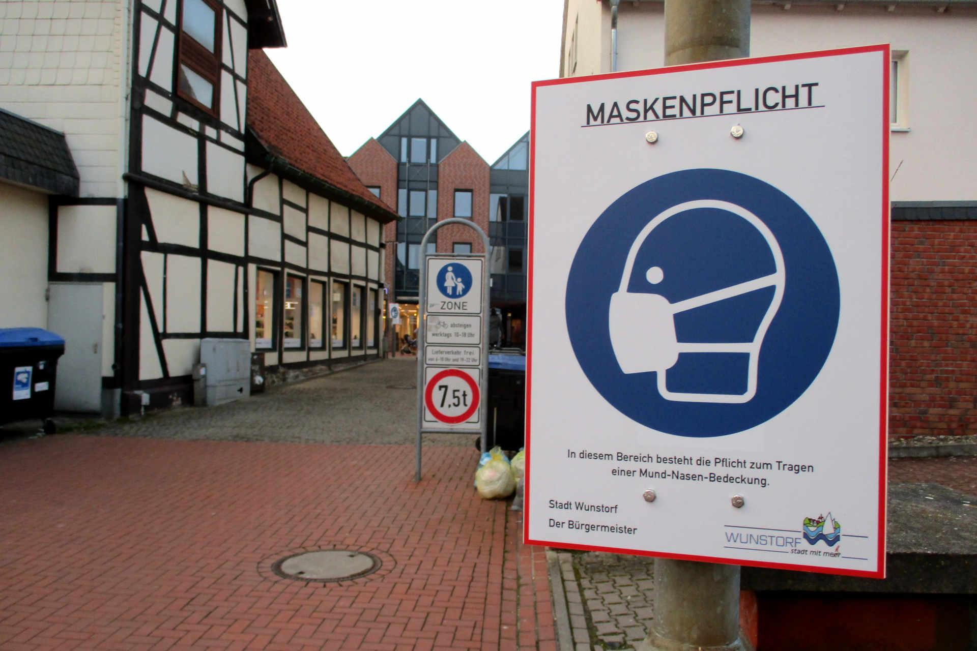 Maskenpflicht Alter Markt