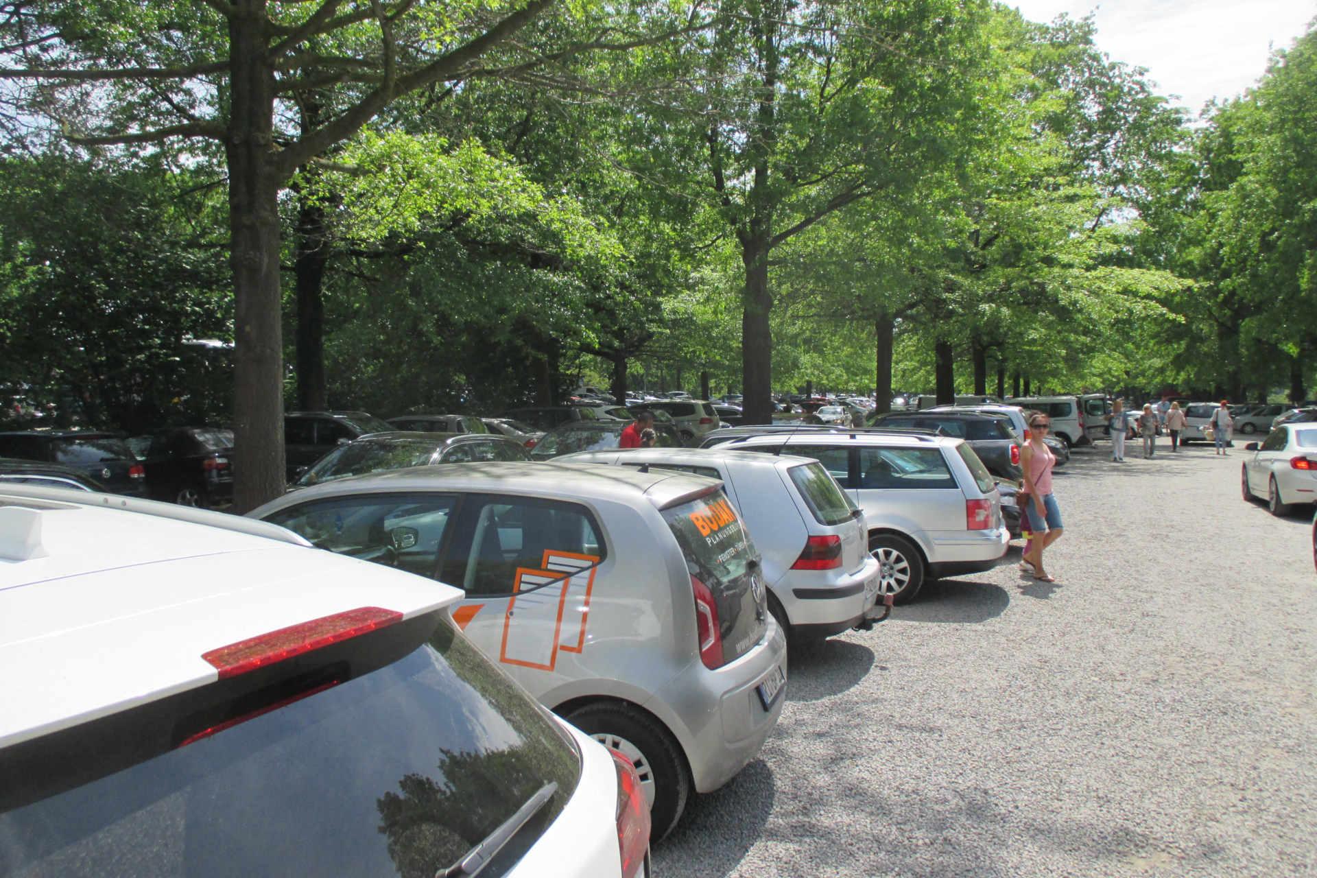 Parkplatz Bruchdamm