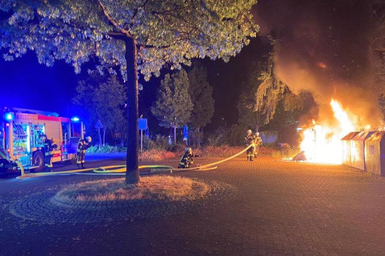 Feuerwehreinsatz Nordstadt