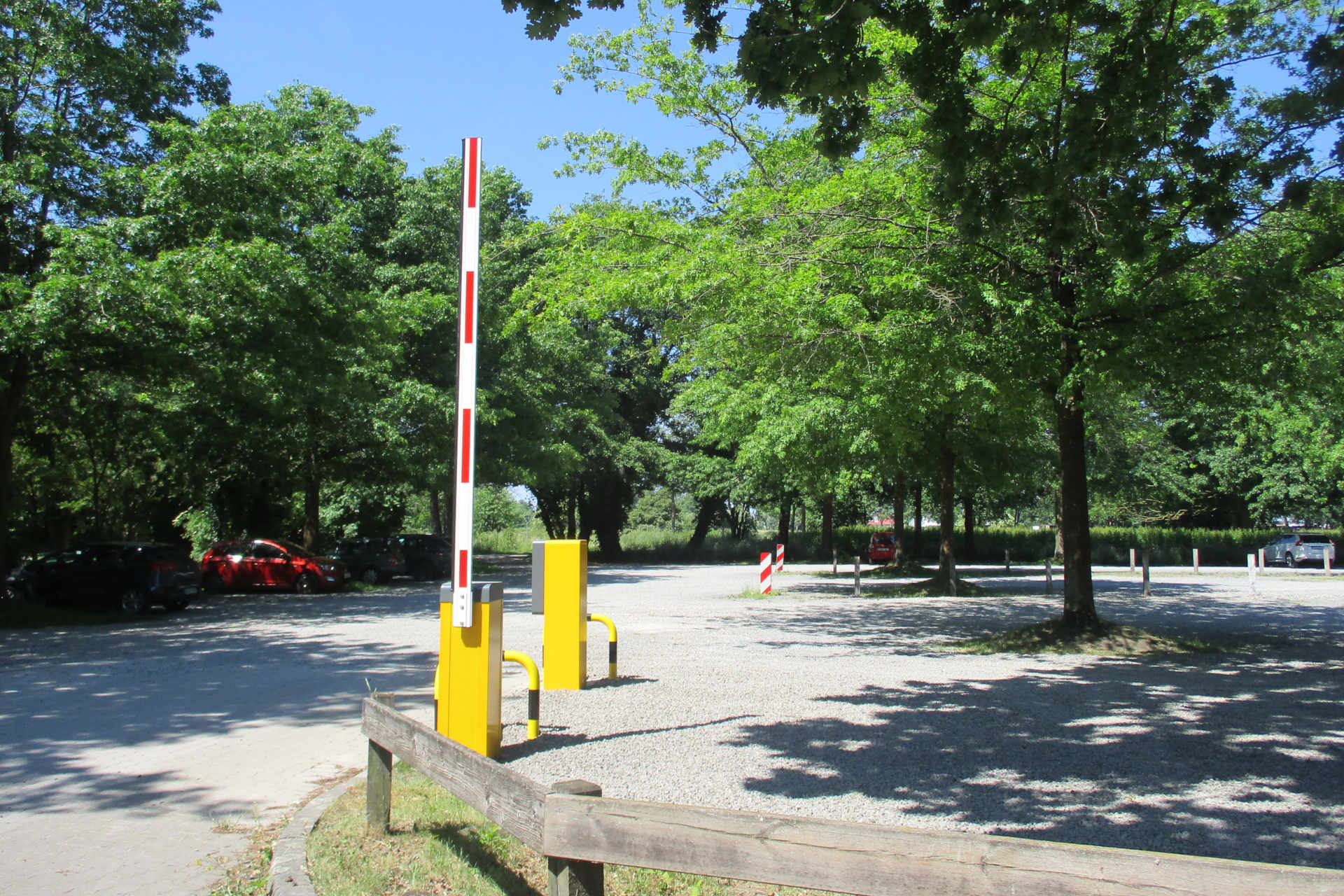Parkschranke Steinhude