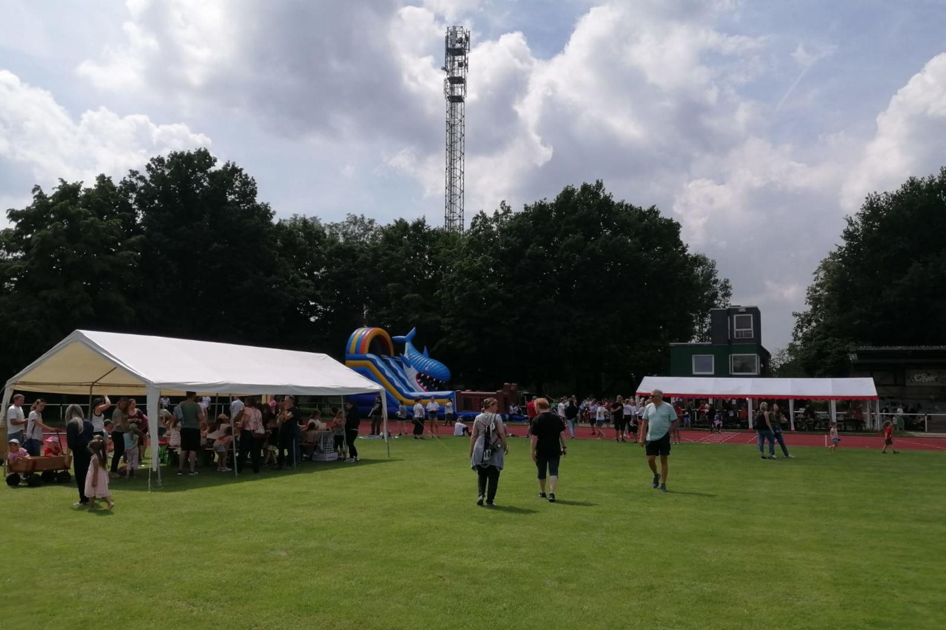 Sommerfest im Stadion