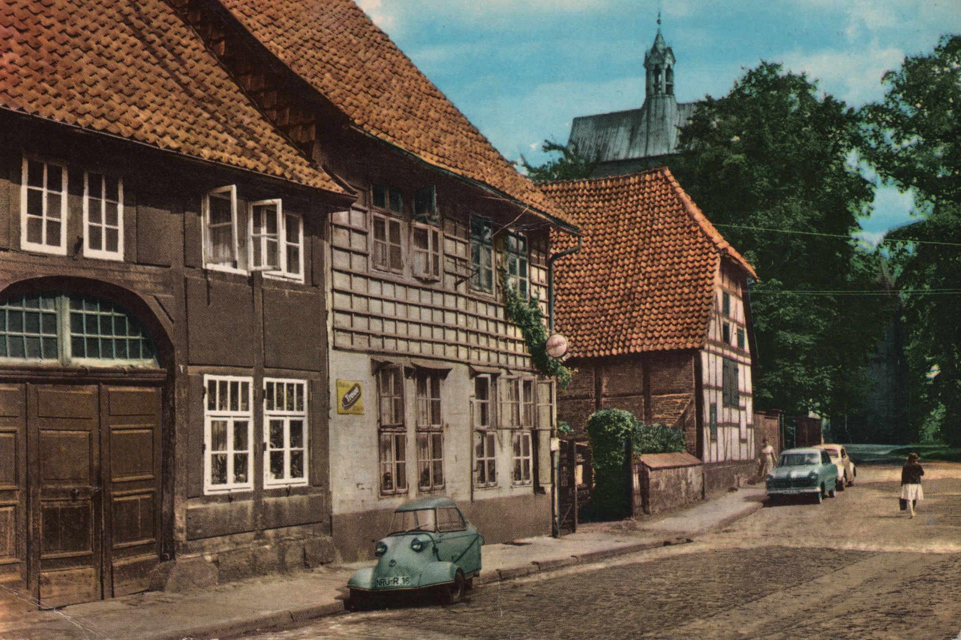 Stiftsstraße historisch