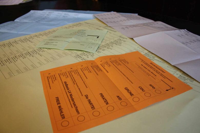 Stimmzettelsammlung