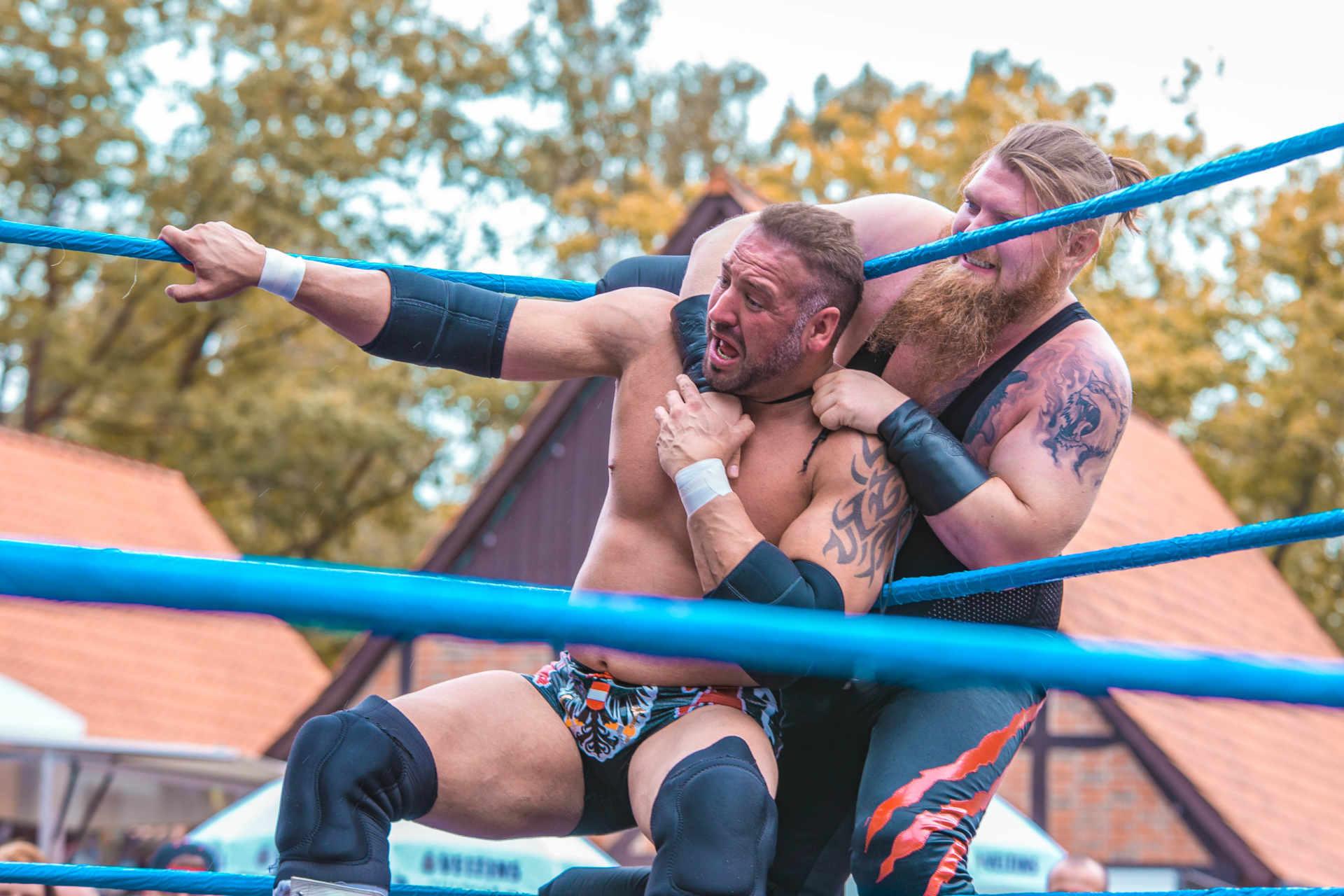 Wrestling in Steinhude