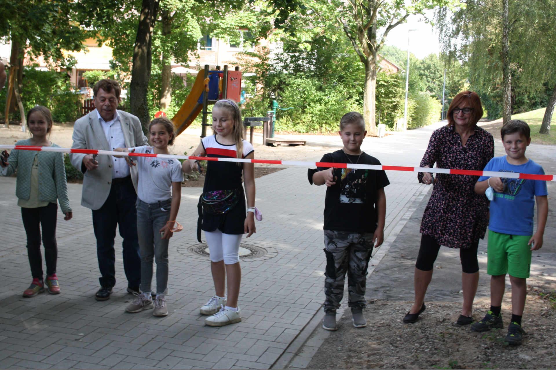 Barnewädchenweg-Wiedereröffnung