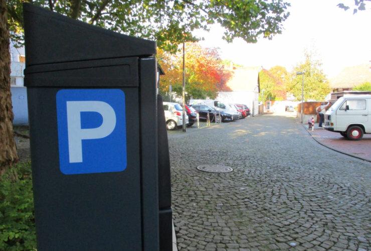 Neue Parkautomaten